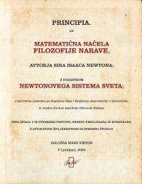Isaac Newton - Principia